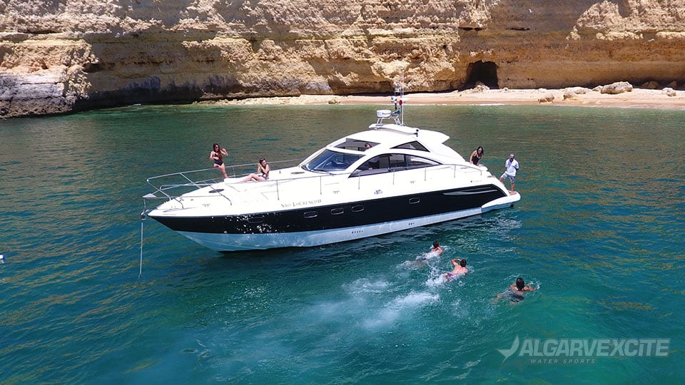 fairline yacht charter algarve